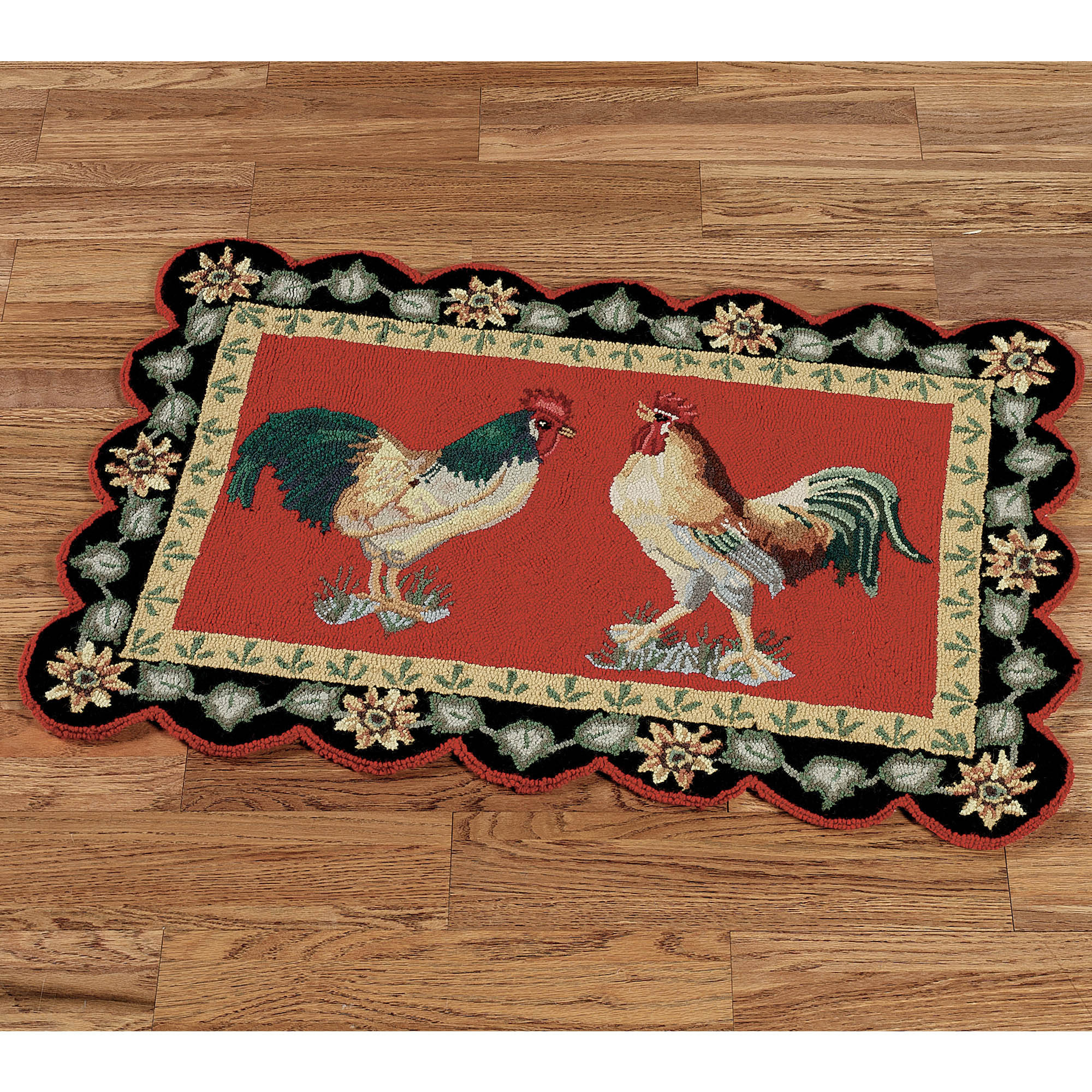 large kitchen rugs wolf design unique rooster homesfeed