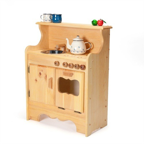 Wooden Toy Kitchens for Little Chefs  HomesFeed