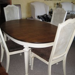 Chair Covers Round Back Pub Table And Sets Antique Cane Dining | Homesfeed