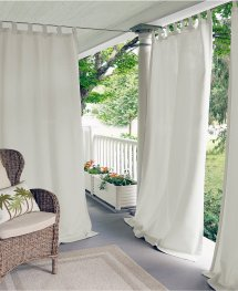 Indoor Outdoor Window Curtains