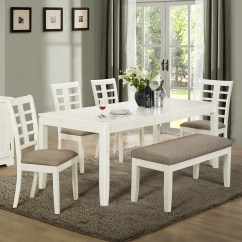 Dining Set With Bench And Chairs Toddler Desk Chair Awesome Dinette Sets Homesfeed