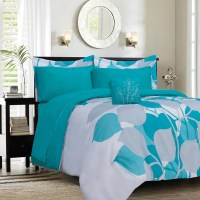 Aqua And Black Bedding | www.imgkid.com - The Image Kid ...