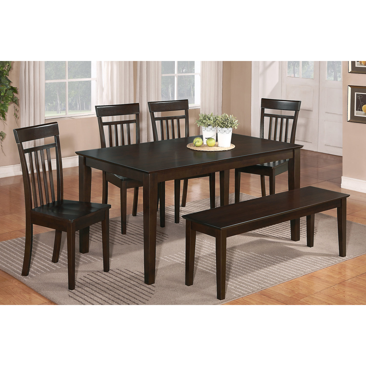 Awesome Dinette Sets With Bench