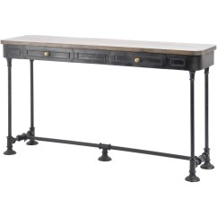 Small Sofa Table Uk Power Reclining Reviews Best Shallow Console Homesfeed