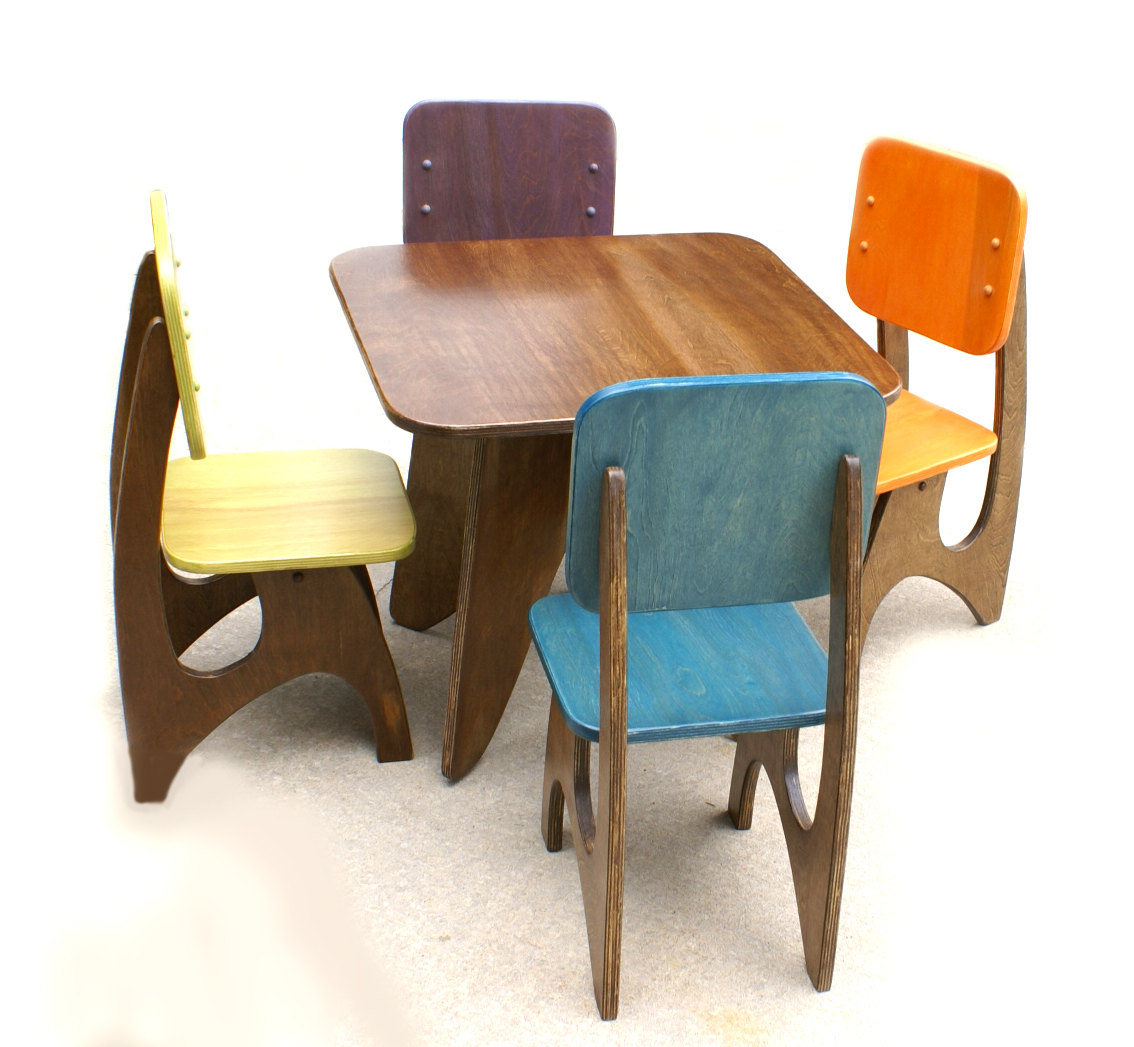 Wooden Table And Chairs Perfect Table And Chair Set For Toddlers Homesfeed