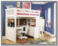 Wooden Loft Bed with Desk: Most Recommended Space