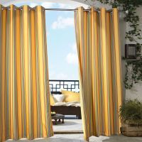 Pretty Indoor Outdoor Curtains | HomesFeed