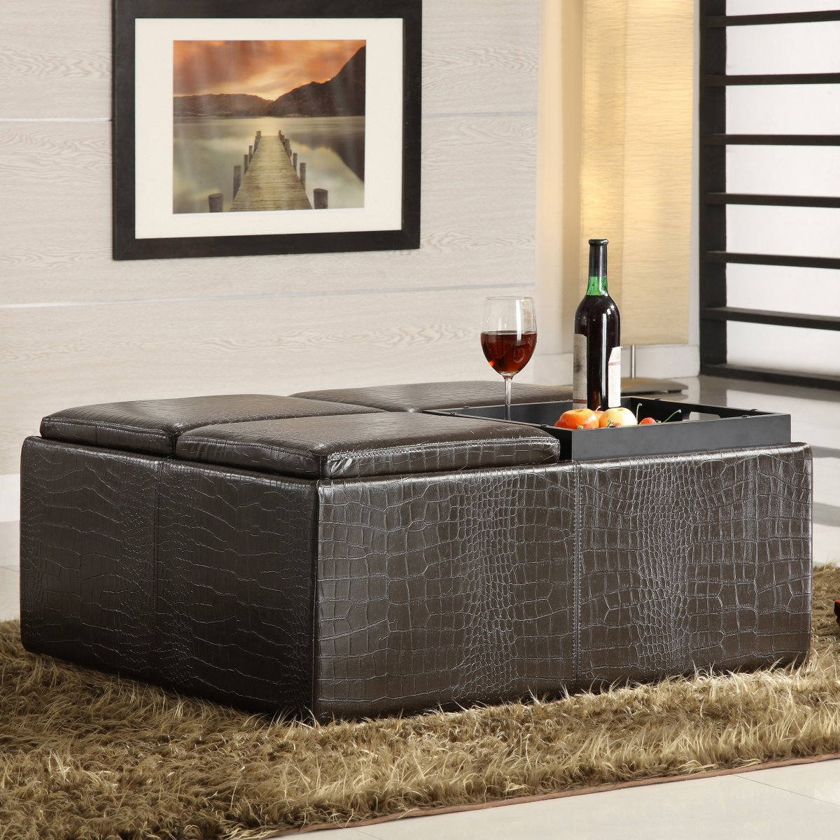 how to choose rug size for living room photos large square storage ottoman | homesfeed