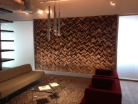 Unique Wood Wall Covering Ideas