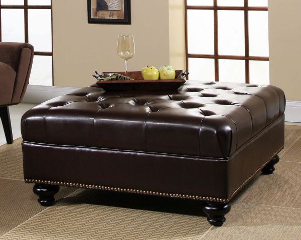 Large Square Storage Ottoman Homesfeed
