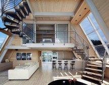 A Frame Home Interior Design Ideas