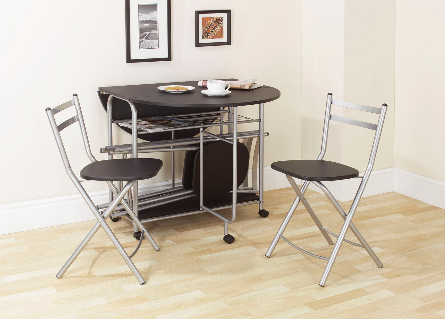 space saving dining table and chairs pride lift chair hand control good saver set homesfeed