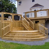 Best Wooden Patio Step Design Ideas