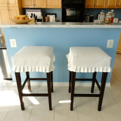 Chair And Stool Covers Seat Weaving Supplies Bar Slipcovers Homesfeed