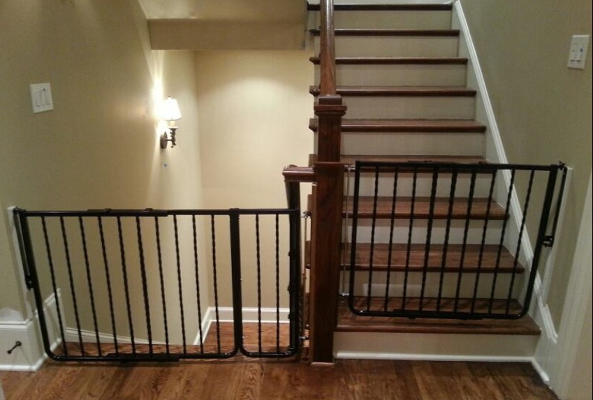 kid living room furniture decoration of good child safety gates for stairs | homesfeed