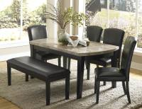 Beautiful Granite Dining Table Set