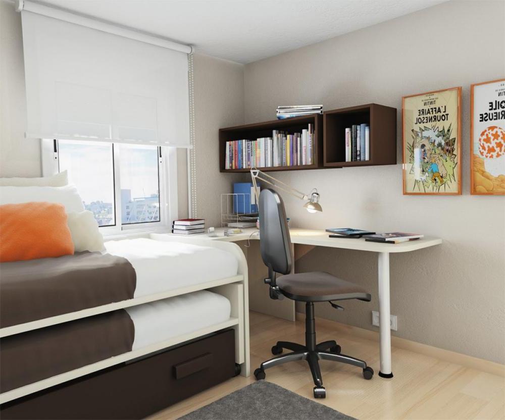 Simple Small Bedroom Desks  HomesFeed