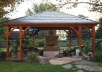 Gazebo Plans With Fireplace   HomesFeed