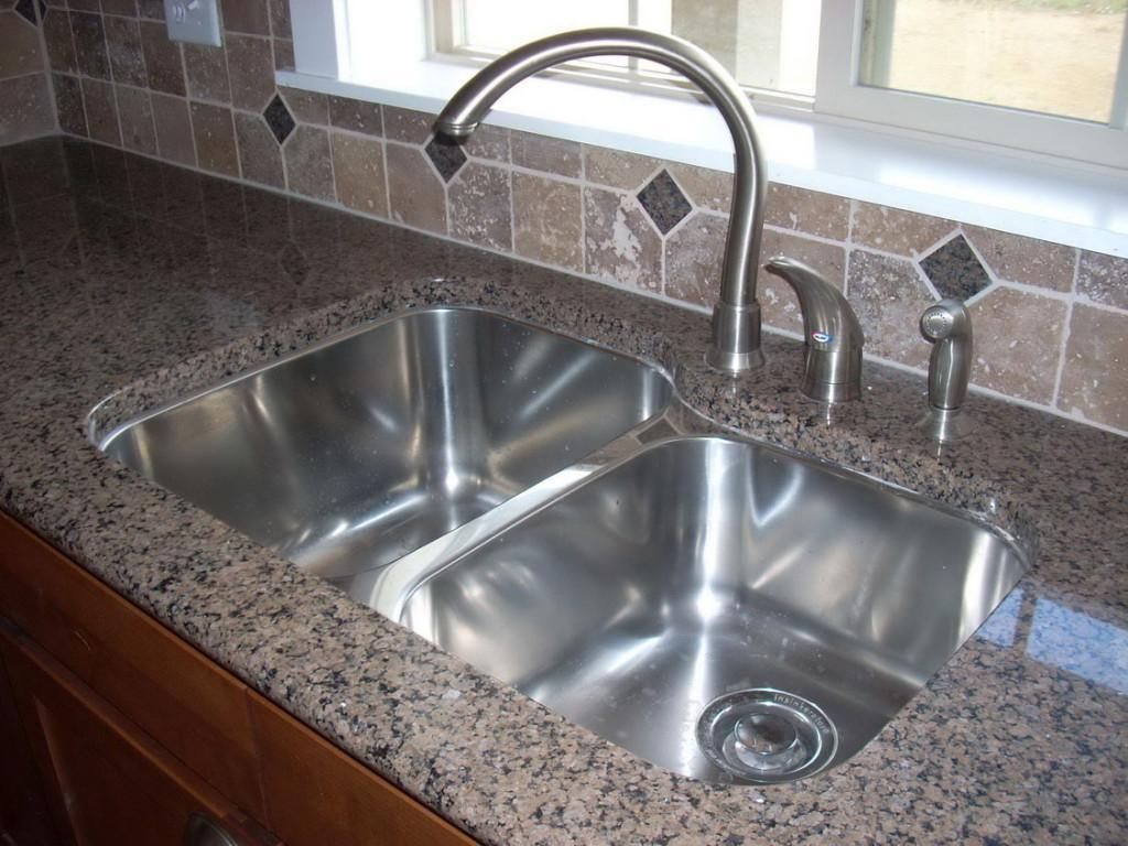 kitchen sink types materials shelf brackets best material for homesfeed