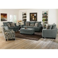 Living Room Chair And Ottoman