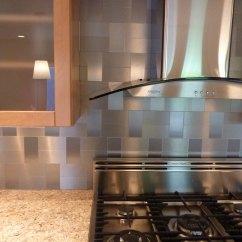 Backsplashes For Kitchen Cabinets Lancaster Pa Modern Ikea Stainless Steel Backsplash Homesfeed