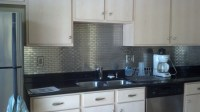 Modern Ikea Stainless Steel Backsplash | HomesFeed