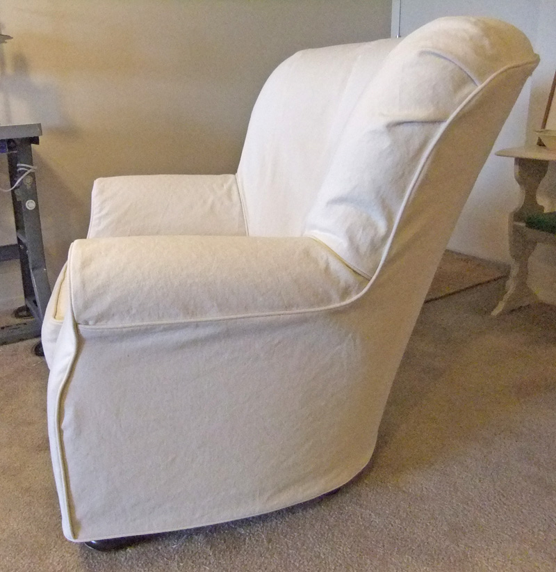 Superieur Barrel Chair Slipcovers