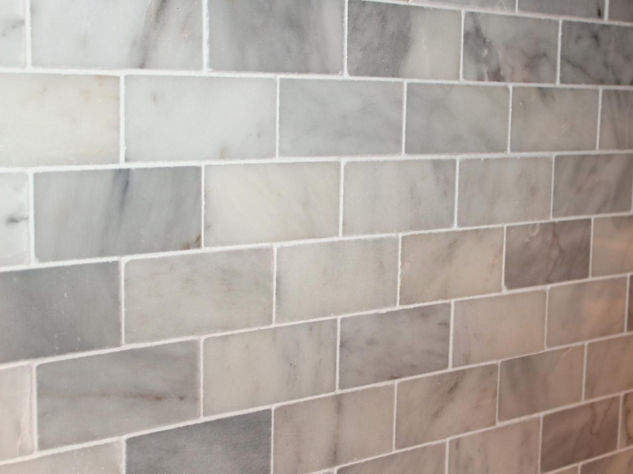 Carrara Marble Backsplash