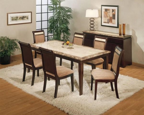 Granite Top Dining Room Table Set