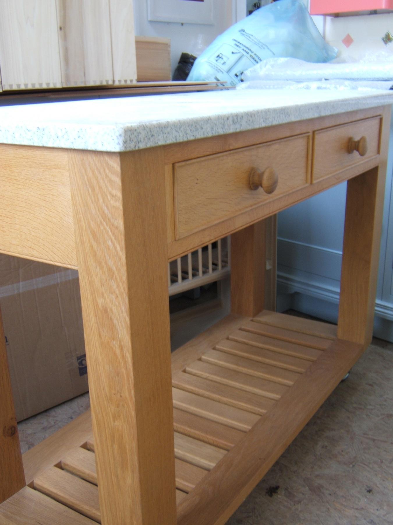 wood kitchen islands shelves ideas best island on casters homesfeed