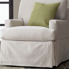 Slipcovers For Barrel Chairs Ghostbusters Dana Chair Simple   Homesfeed