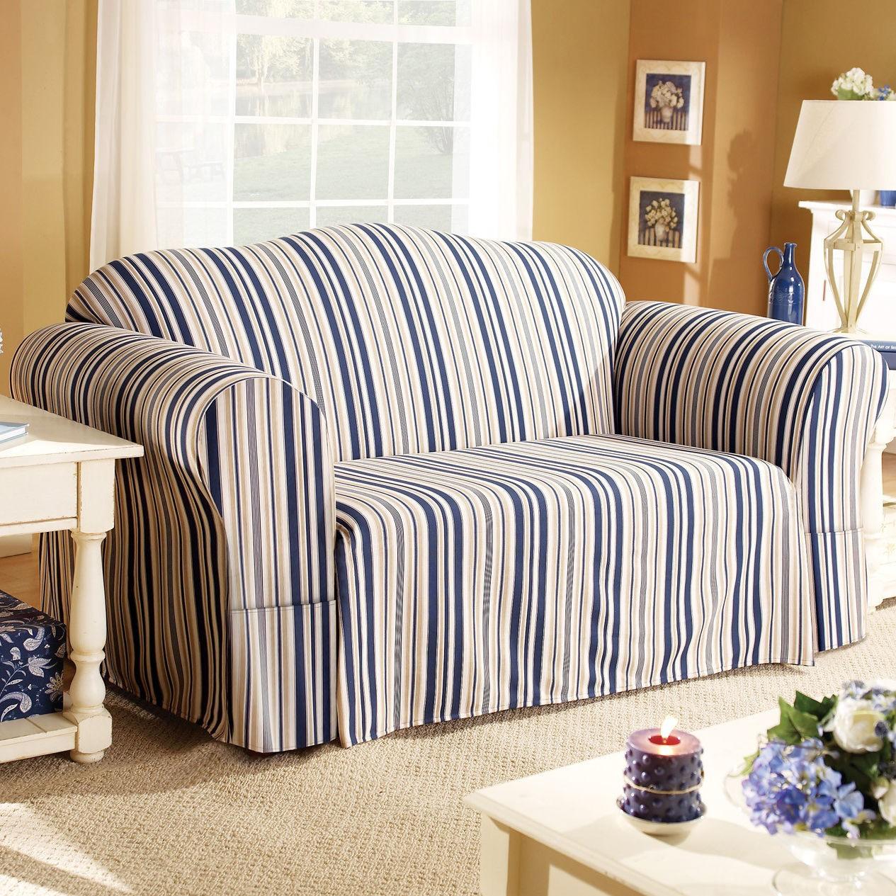 striped sofa single design elegant black and white couch homesfeed