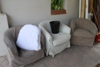 Simple Barrel Chair Slipcovers