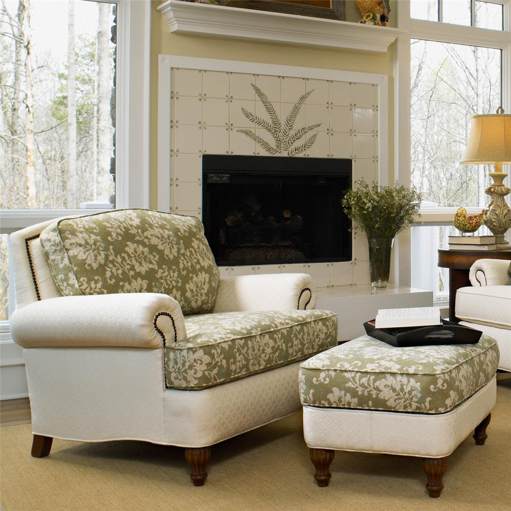 Perfect Chairs With Ottomans For Living Room  HomesFeed