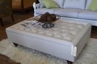 Large Square Storage Ottoman | HomesFeed