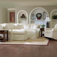 Slipcovered Living Room Chairs Big Office Awesome Slipcovers For Sectional Couches Homesfeed