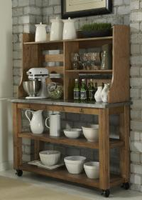 Antique Wooden Bakers Rack | HomesFeed