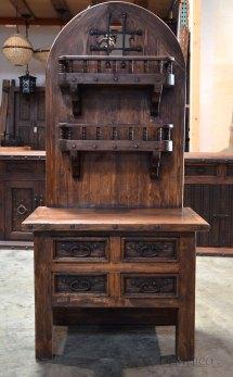 Antique Wooden Bakers Rack Homesfeed