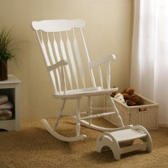 Comfy Nursing Chair Folding Bar Modern Rocking For Nursery Homesfeed