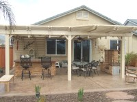Natural Wooden Patio Covers
