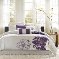 Gray and Purple Bedding Product Choices | HomesFeed