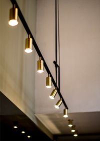 Track Lighting With Pendants