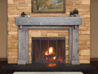 Reclaimed Wood Mantels for A Rustic or Antique Fireplace ...