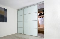 White Sliding Closet Door Options
