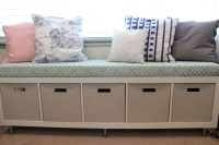 Long Bench With Storage | HomesFeed
