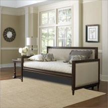 Upholstered Daybed With Tufted Detail Homesfeed