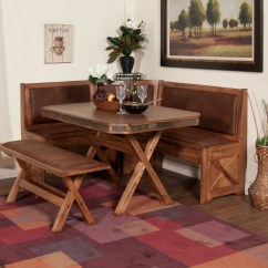Kitchen Table Set With Bench Building A Cabinet Modern Style Dining Ideas Homesfeed
