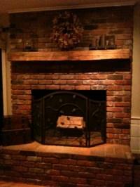 Exelent Ideas of Reclaimed Wood Mantel | HomesFeed