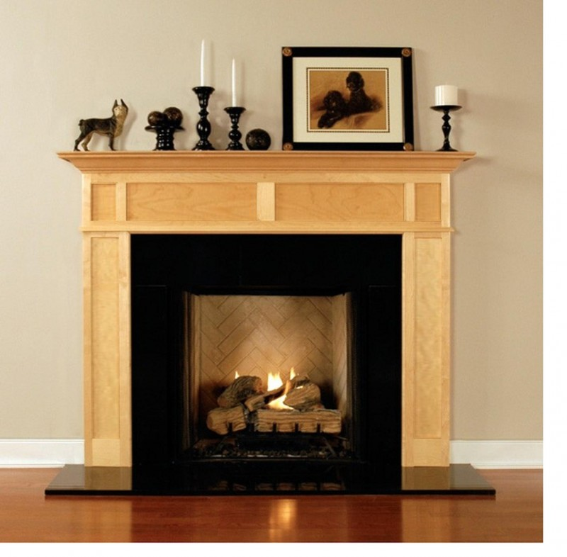 Maple Fireplace Mantel Shelf Exelent Ideas Of Reclaimed Wood Mantel | Homesfeed