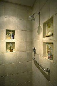 60 Fascinating Shower Shelves for Better Storage Settings ...